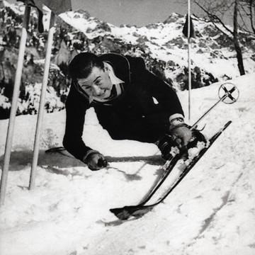 Karl Molitor, der Rekordsieger am Lauberhorn